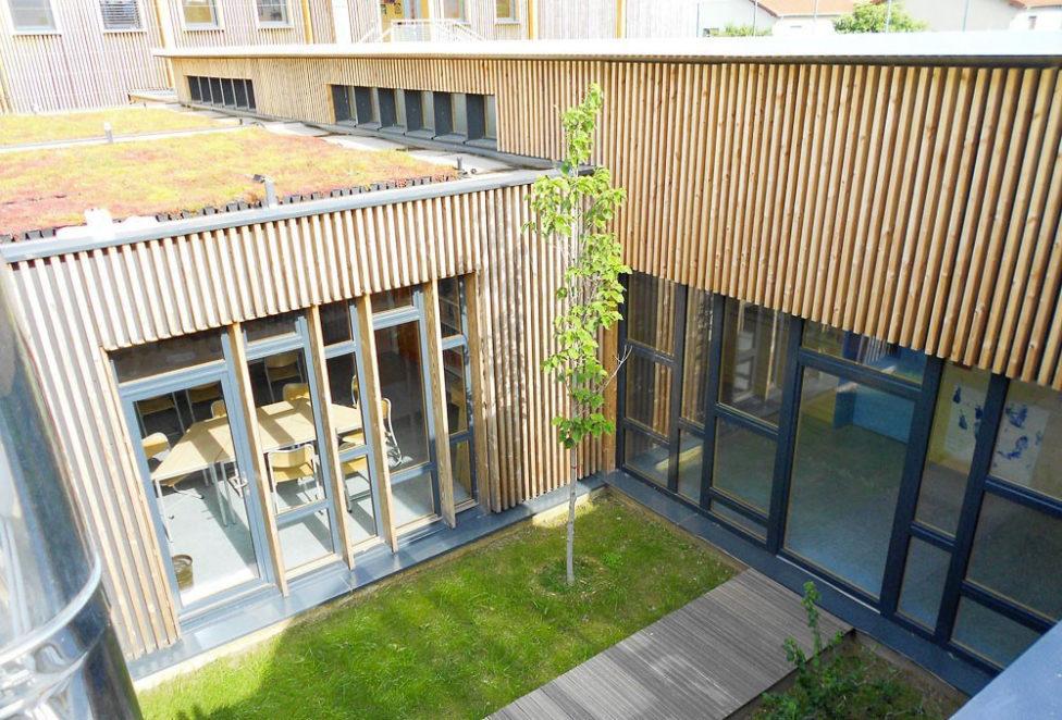 construction d'une école modulaire bois déplaçable