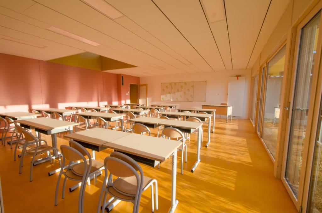 salle de classe modulaire bois
