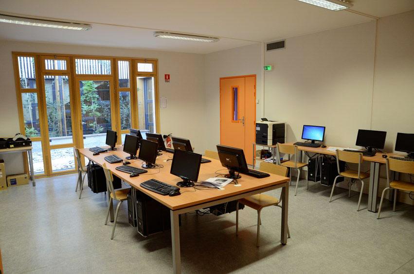 salle de classe modulaire déménagée