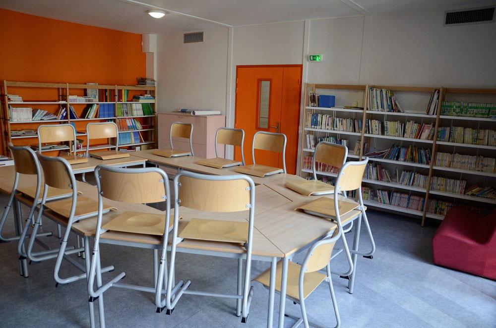 salle de classe modulaire haut de gamme