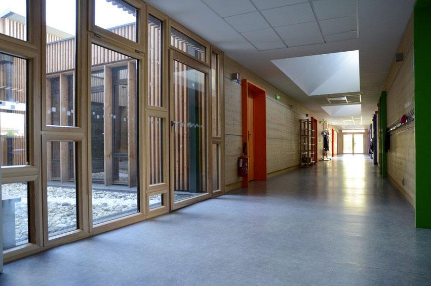 école déplacée