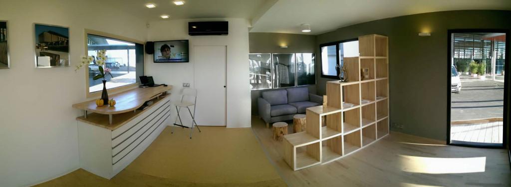construction bureaux modulaire bois