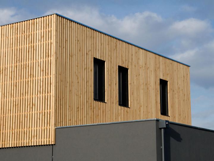 Construction en site occupé modulaire bois au coeur d'un aéroport