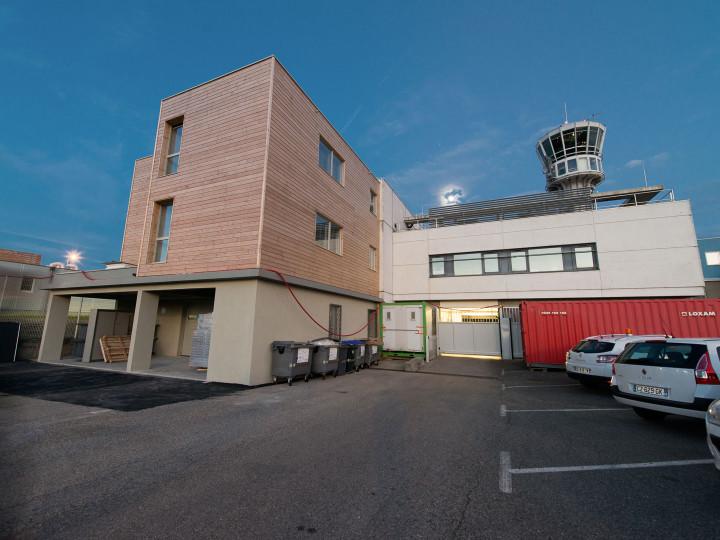 Bâtiment aéroport Saint-Exupéry – Lyon