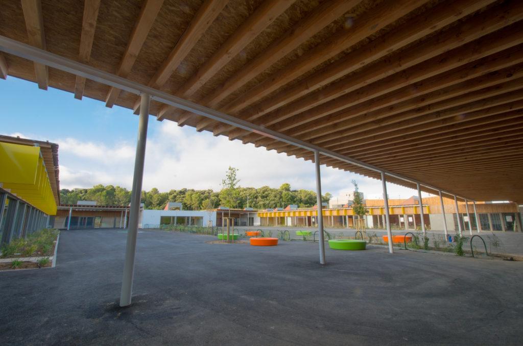 construction école Nelson Mandela Juvignac