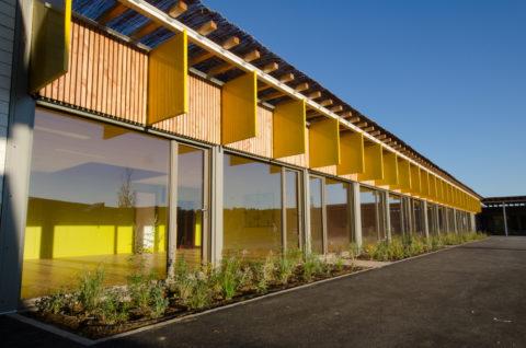 école modulaire performante, design et architecturée