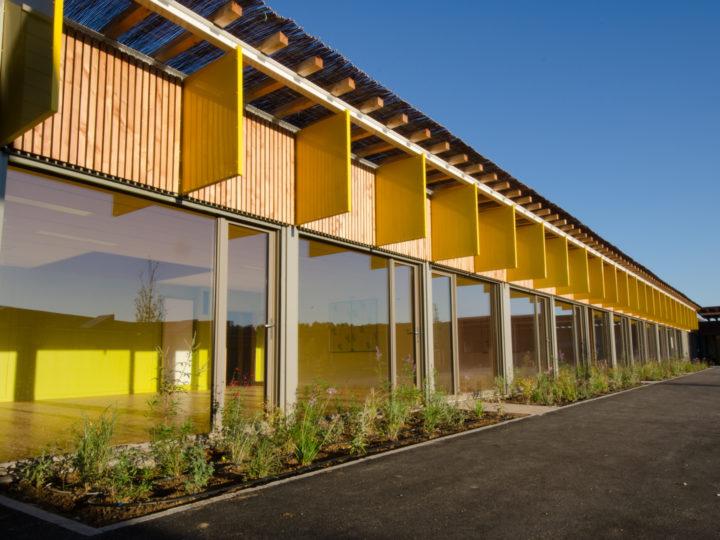 Une école performante design et architecturée à Juvignac